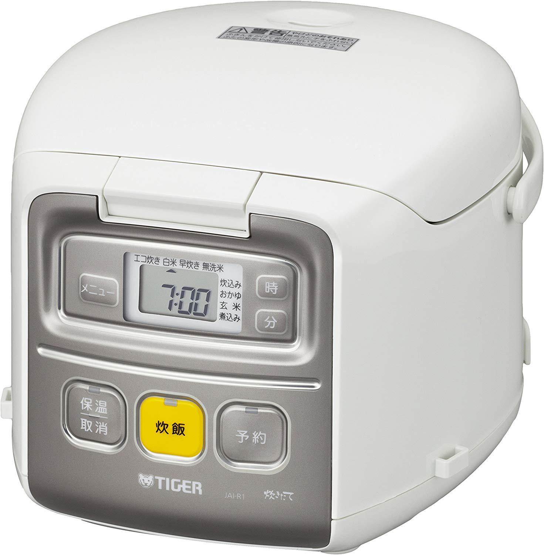 【タイガー】マイコン炊飯ジャー たきたてミニ 約幅22.4×奥28.3×高さ18.9cm