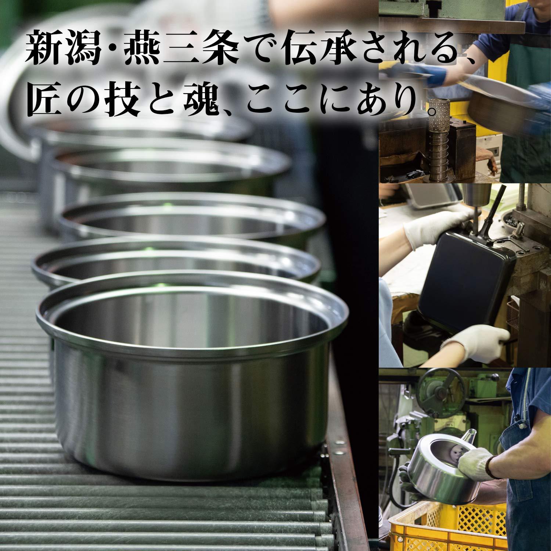 【匠弥】ハンドル着脱式鍋セット