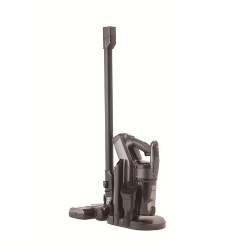 【siroca】2WAYコードレスクリーナー ブラック(集じん容量350ml、スティック&ハンディ)