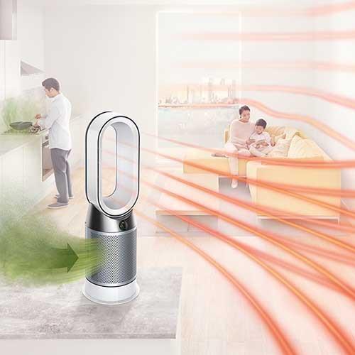 【Dyson】Pure Hot + Cool Link 空気清浄機能付ファンヒーター 約幅24.8×奥24.8×高さ76.4cm