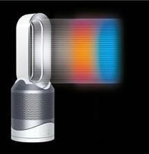 【Dyson】Pure Hot + Cool Link 空気清浄機能付ファンヒーター 約幅22.2×奥22.2×高さ63.2cm
