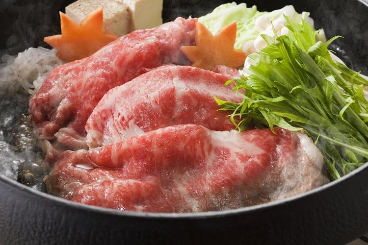 【三重県】松阪牛すき焼き&しゃぶしゃぶセット ウデ肉400g、しゃぶしゃぶ用モモ肉400g×各1
