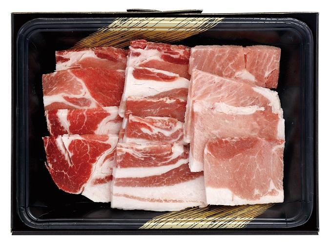 【沖縄県】あぐー豚 焼肉 肩ロース肉・もも肉・ばら肉 各100g/計300g