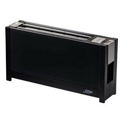 【Ritter】[トースター] ブラック 幅385×高さ200×奥行90mm