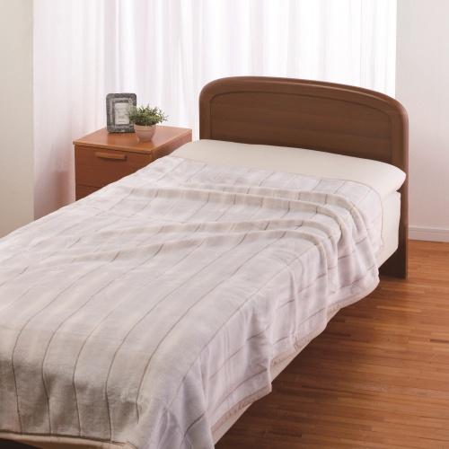 西川リビング 日本製軽量あったか毛布