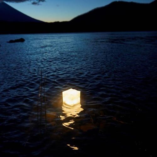 折りたたみ式ソーラーランタン「キャリー・ザ・サン」ウォームライト ミディアム10個セット(ホワイト5個+ブラック5個)
