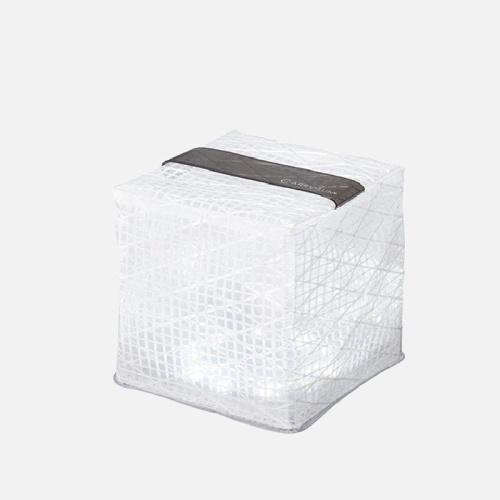 折りたたみ式ソーラーランタン「キャリー・ザ・サン」クールブライト ミディアム5個セット(ホワイト2個+ブラック3個)