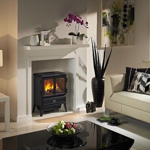 【Dimplex】 電気暖炉 Oakhurst Black
