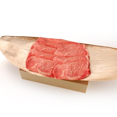 近江松㐂屋牛 近江牛ロースすき焼き・しゃぶしゃぶ用