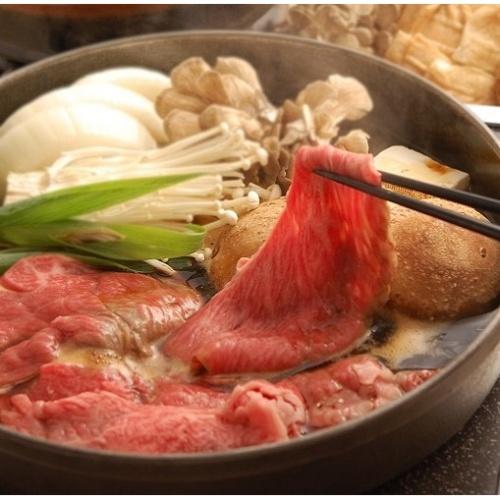 近江松㐂屋牛 近江牛すき焼き用(ロース・モモ・バラ)