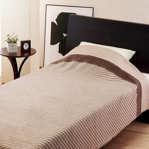 【和研】カシミヤ毛布(毛羽部分)1P 約140×200cm