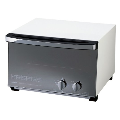 【ツインバード工業】ミラーガラスオーブントースター 約幅34×奥34×高さ22.5cm