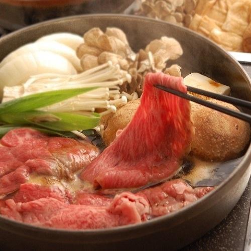 近江松㐂屋牛 すき焼き用(ロース・モモ・バラ)