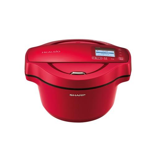シャープ 水なし自動調理鍋 ホットクック KN-HW16E-R