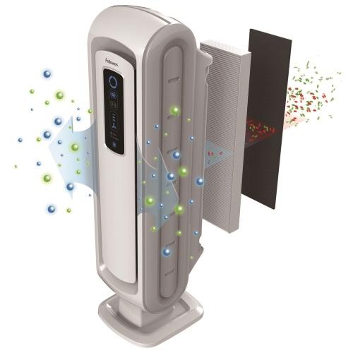 フェローズ チャイルドロック機能付 PM2.5対応空気清浄機