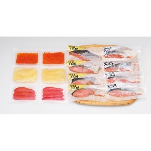 【北海道】北海道鮭と魚卵の詰合せ