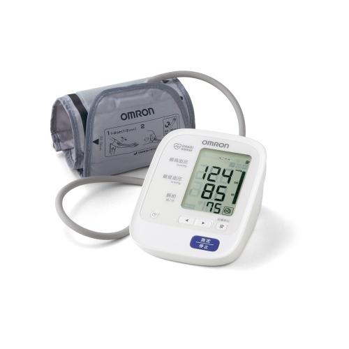 【オムロン】自動血圧計 約幅12.3×奥15.8×高さ8.5cm
