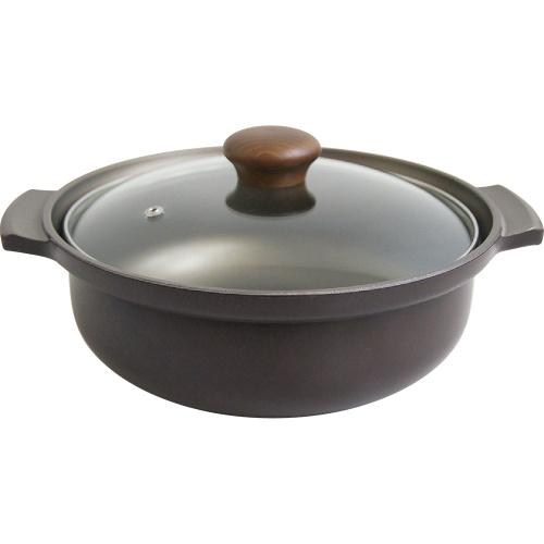 【ウルシヤマ金属工業】IH味彩鍋 9号 約径28.1×高さ9.8cm