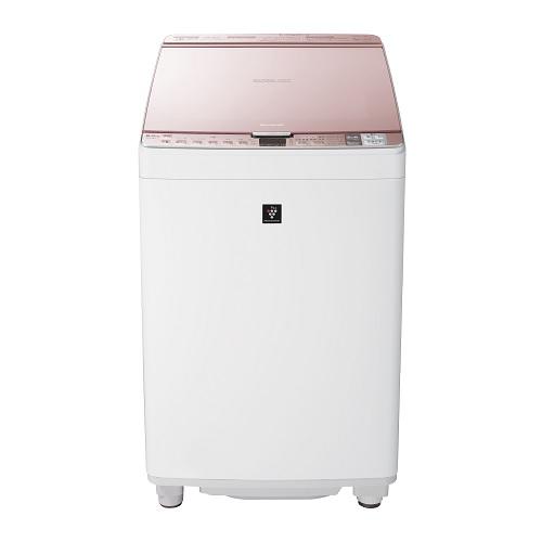 【シャープ】タテ型洗濯乾燥機 ES-PX8D-Pピンク系