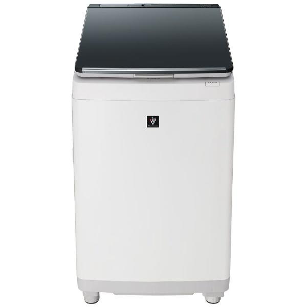【シャープ】タテ型洗濯乾燥機 ES-PW11D-Sシルバー系