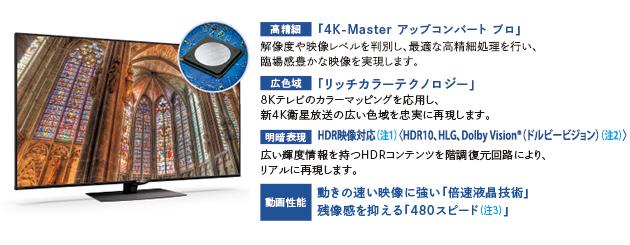 【シャープ】液晶テレビ 4K 4T-C60BN1