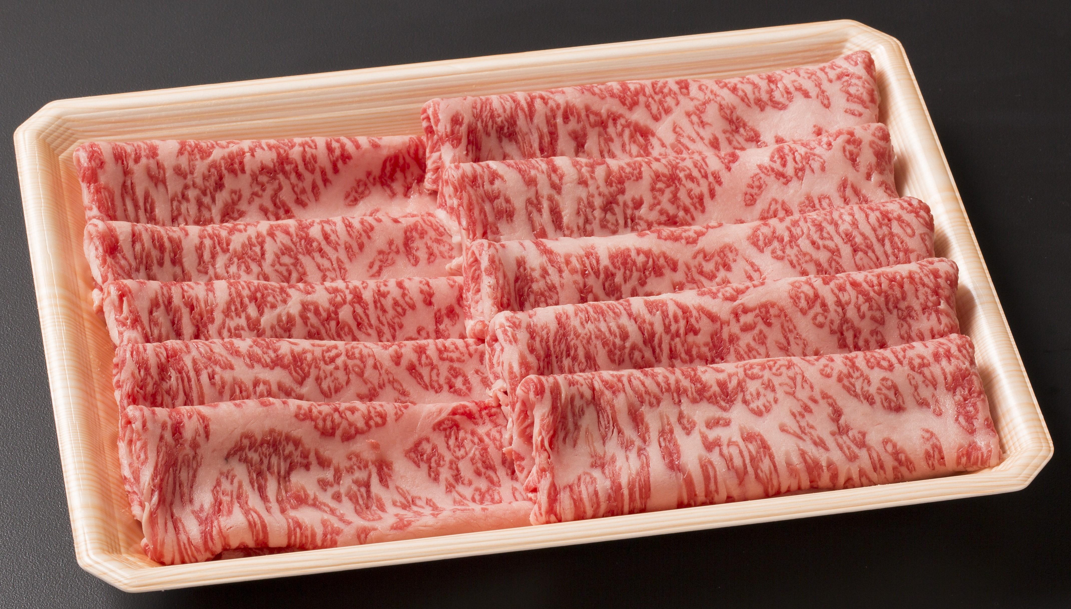 【岩手県】いわて牛ロース薄切り400g (すき焼き・しゃぶしゃぶ用) 400g(200gx2パック)