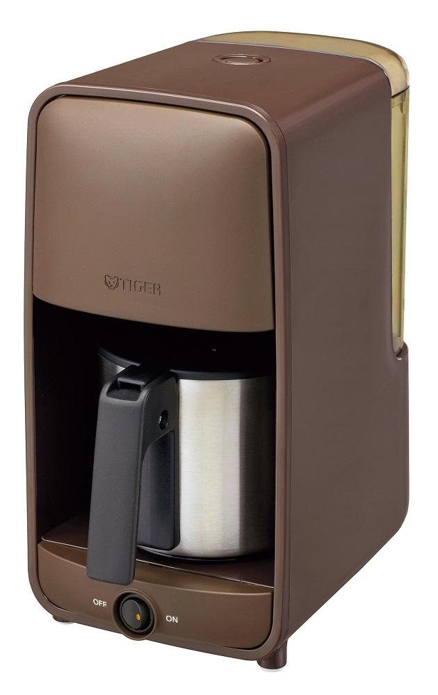【タイガー魔法瓶】コーヒーメーカー(1~6杯用) ダークブラウン