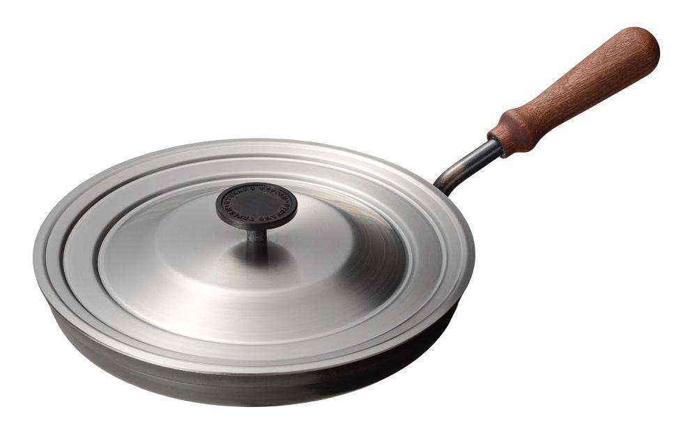 【オークス】大人の鉄板 フライパン26cm 蓋付き