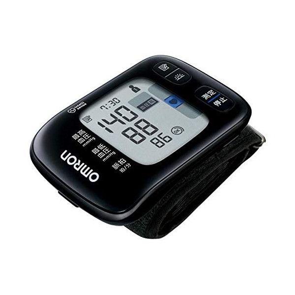 【オムロン】手首式血圧計 本体/約幅9.1×奥1.34×高さ0.63cm ブラック