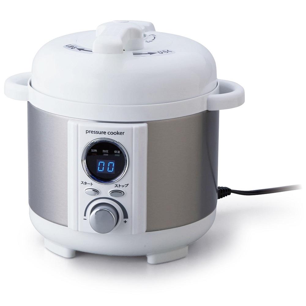 【アルファックス・コイズミ】AL COLLE(アルコレ)電気圧力鍋 約幅26.8×奥行26×高さ25.5cm・約1.2L