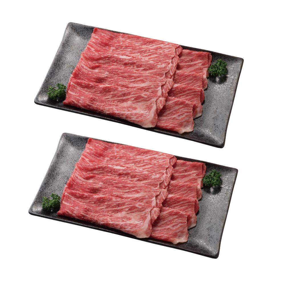 【北海道】ふらの和牛モモすき焼き 360g×2