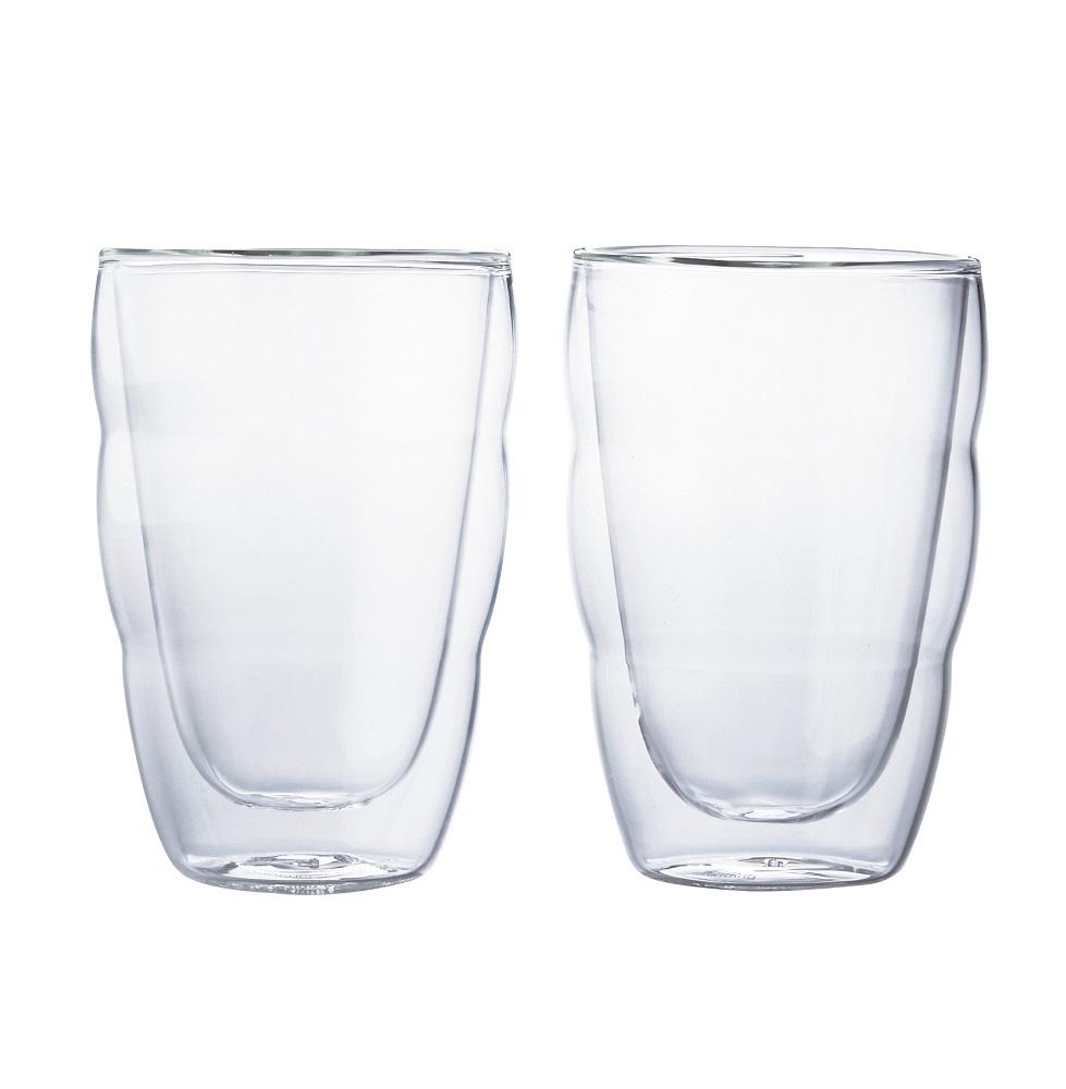 【ボダムジャパン】PILATUS ダブルウォールグラス 2個セット 0.35L