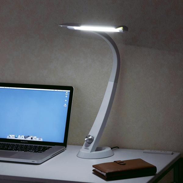 【ツインバード工業】LEDデスクライト Airled 約 145 × 135 × 465 mm ホワイト