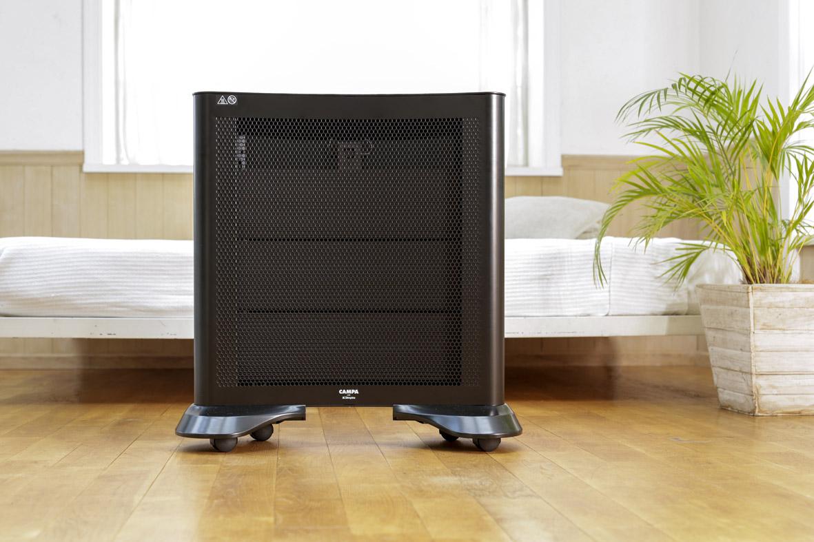 【Dimplex】CAMPA photonⅡ 62.3×25×高さ60.9cm ブラック