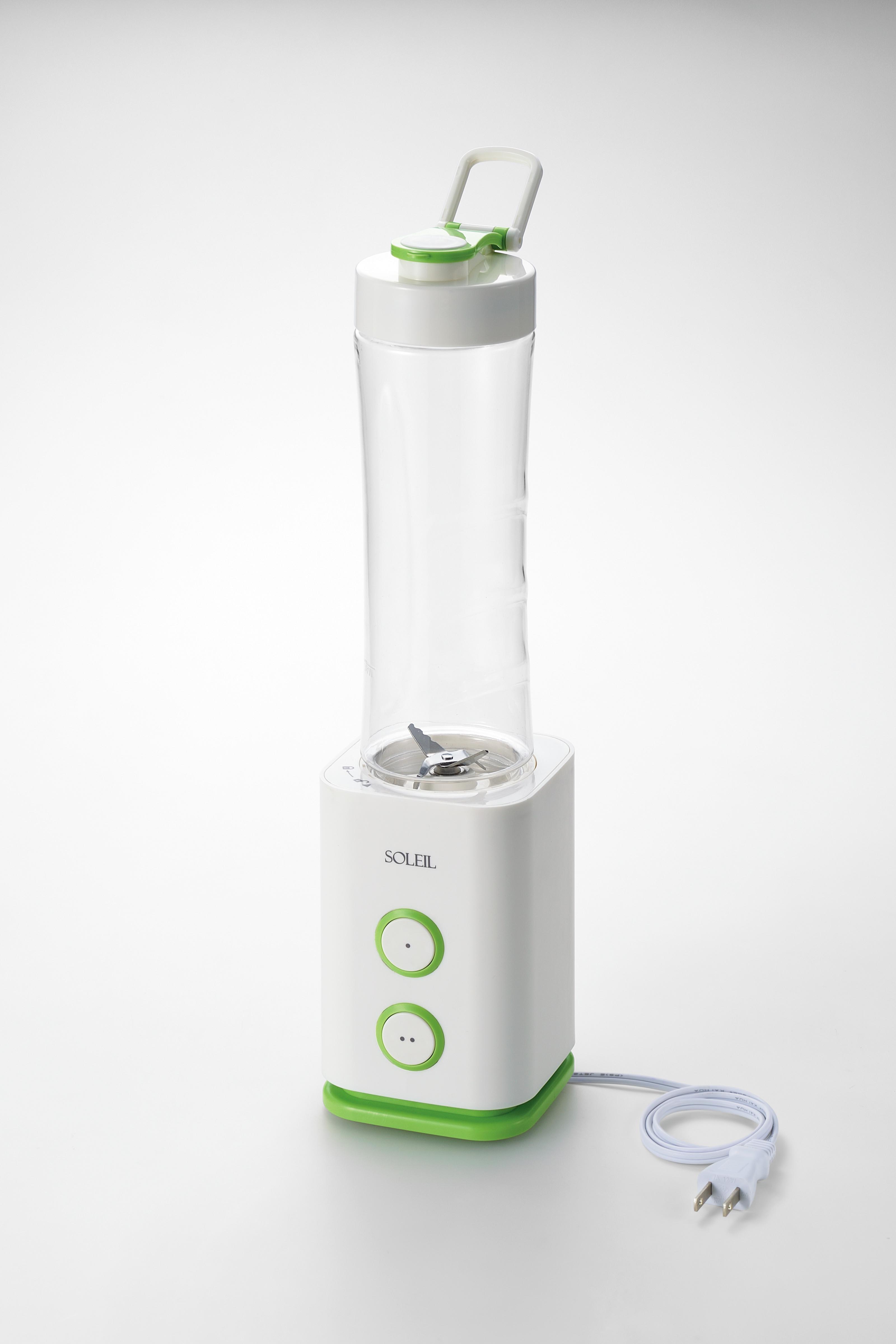 【アサヒ】ソレイユ フレッシュスムージーメーカー 約幅9.7×奥9.9×高さ35cm・600ml ホワイト