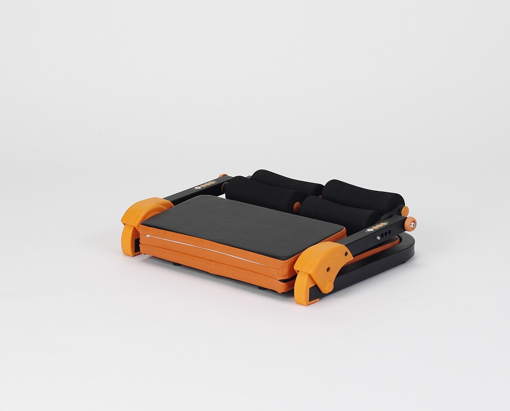 【アルインコ】イージーエクサ ツイン 使用時/約幅55.5×奥66.5×高さ34cm