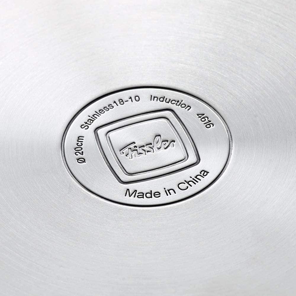 【フィスラージャパン】両手鍋 スナッキーキャセロール14cm 約14×12.5cm・満水容量1.1L・重量約0.7kg シルバー