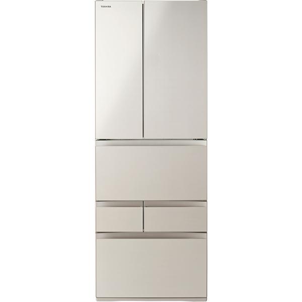 【標準設置工事付】東芝 冷凍冷蔵庫 VEGETA(ベジータ) FHシリーズ 6ドア GR-S550FH(EC)
