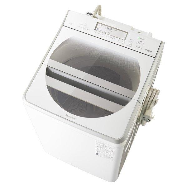 【標準設置工事付】パナソニック NA-FA120V3-W [全自動洗濯機 洗濯12kg 温水泡洗浄W ホワイト]