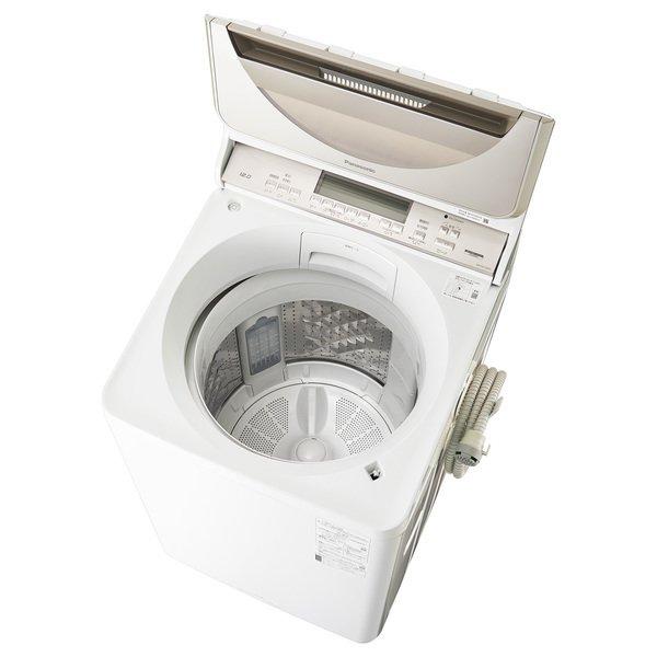 【標準設置工事付】パナソニック NA-FA120V3-N [全自動洗濯機 洗濯12kg 温水泡洗浄W シャンパン]