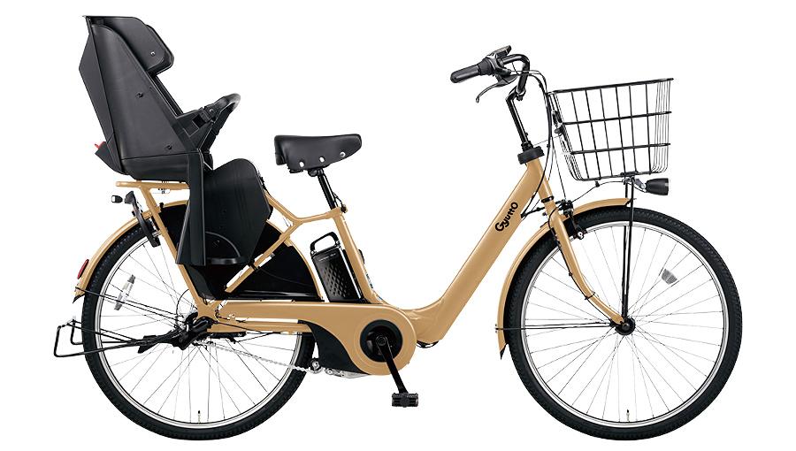 【2020年モデル】パナソニック ギュット・アニーズ・DX・26 電動自転車 デザートイエロー(Y1C) 26インチ