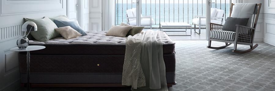 シーリー社の寝具イメージ