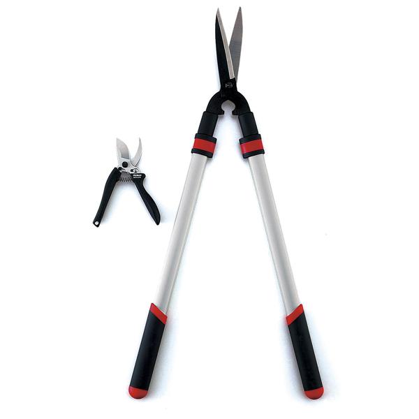 【五十嵐刃物工業】伸縮刈込鋏・剪定鋏セット