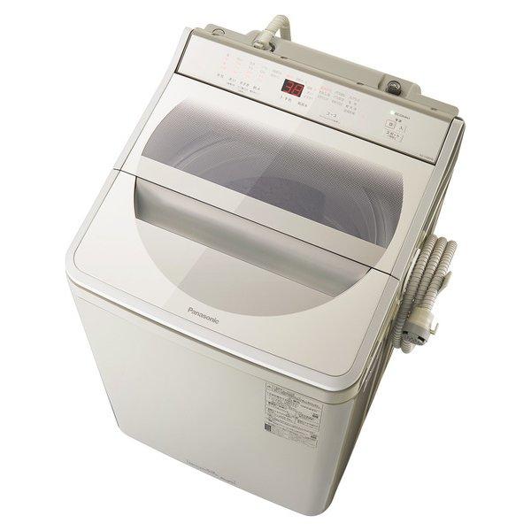 【配送設置込】パナソニック NA-FA90H8-C [全自動洗濯機 洗濯9kg 泡洗浄 ストーンベージュ]