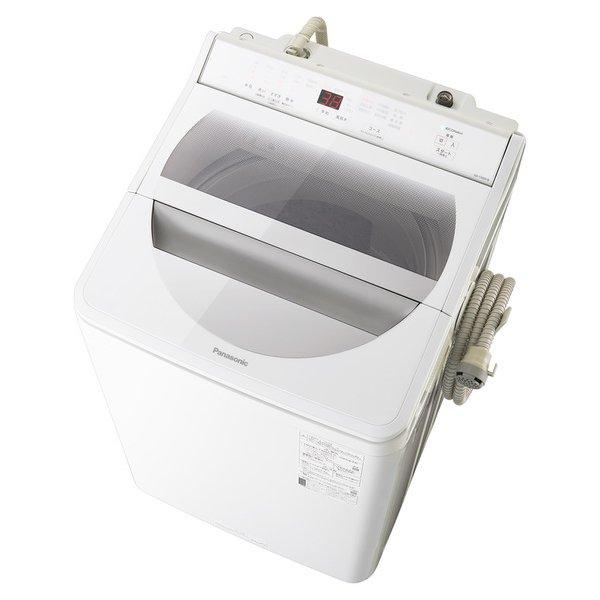 【配送設置込】パナソニック NA-FA90H8-W [全自動洗濯機 洗濯9kg 泡洗浄 ホワイト]