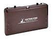 【キャプテンスタッグ】ガスツーバーナーコンロ 使用時/約65.5×35×高さ50cm ブラウン
