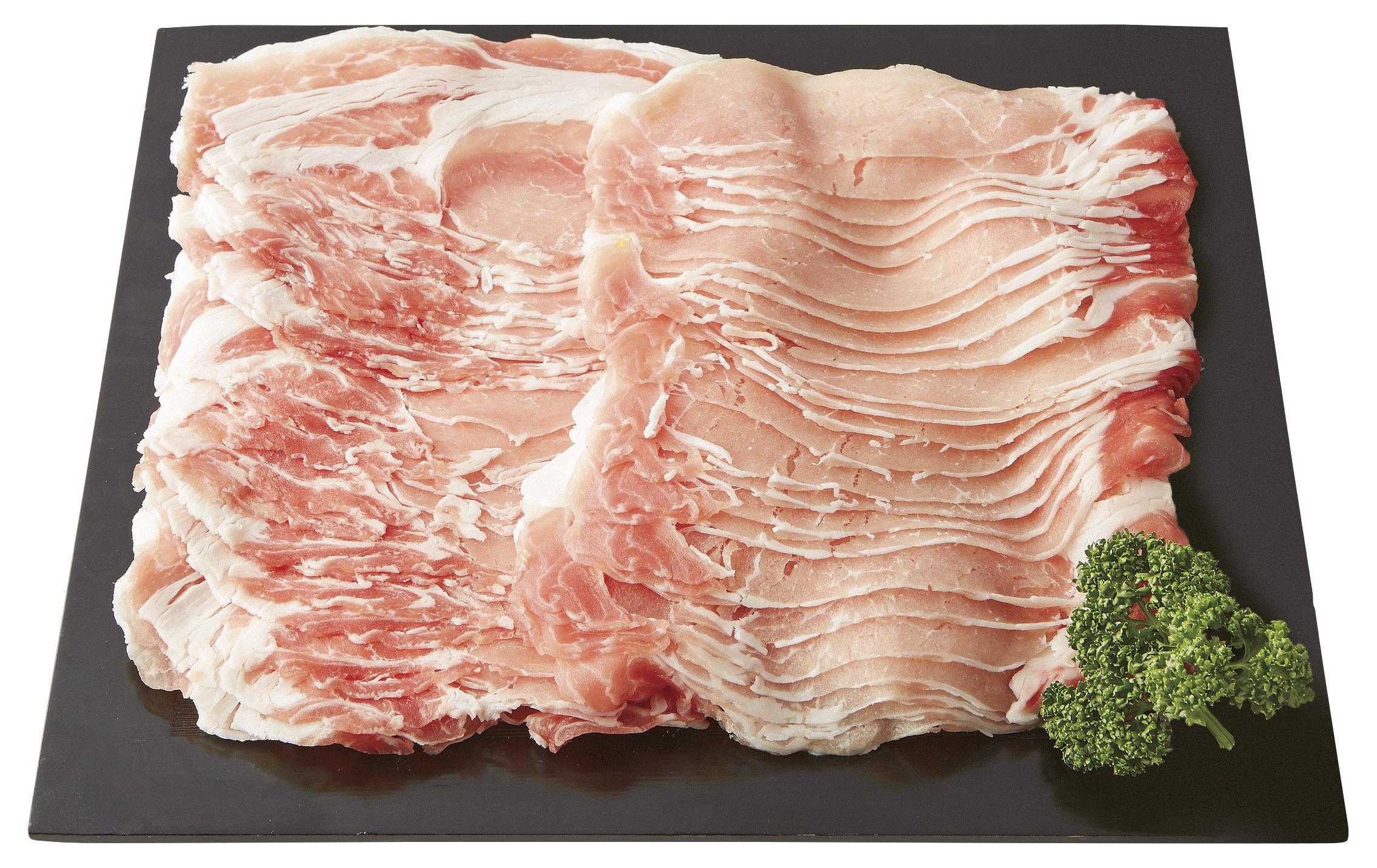 【鹿児島県】南州農場 黒豚 しゃぶしゃぶ用 ロース1kg