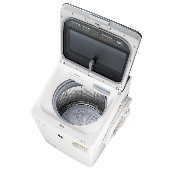 【配送設置込】シャープ ES-PW11E-S [縦型洗濯乾燥機 洗濯11.0kg/乾燥6.0kg シルバー系]