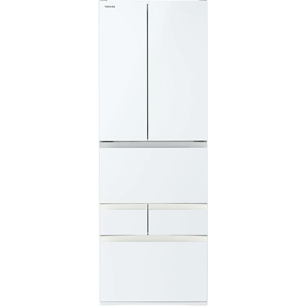 【配送設置込】東芝 GR-S510FH(EW) [冷凍冷蔵庫 ベジータ 509L・フレンチドア6ドア グランホワイト]
