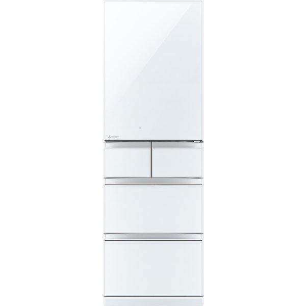 【配送設置込】三菱電機 MR-B46F-W[冷蔵庫(455L・右開き)Bシリーズ クリスタルピュアホワイト]